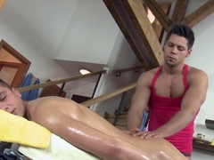 Straight nasty amateur hunk gets a very sloppy bj