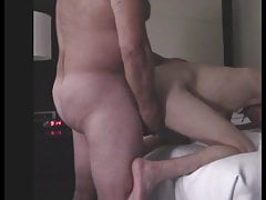 daddy fucks chastity sub