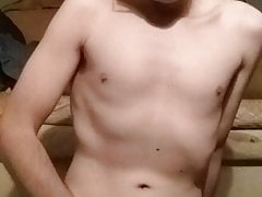 Twink ruins orgasm then swallows cum